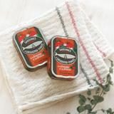 サンフラワーオイルサーディン ×トマト&バジルサーディン2缶セット(賞味期限:2018/11/13)